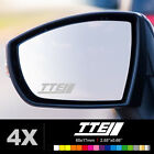 TOYOTA TTE Wing Mirror Glass Silver Frosted Etched Car Vinyl Decal Stickers