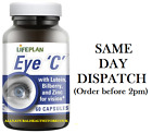 Lifeplan Eye C with Lutein, Bilberry & Zinc 60 Caps For Vision