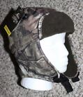 New MOSSY OAK Break-Up Country Trapper Hat Camo Hunting One Size Adult Ear Flaps