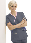 Urbane Crossover Scrubs Double Pocket Top 9534 All Color/Size NWT