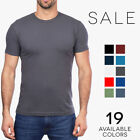Next Level Mens Short Sleeve Premium Fitted Sueded Crewneck