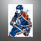 Wayne Gretzky Edmonton Oilers NHL Hockey Poster FREE US SHIPPING $30.0 USD on eBay
