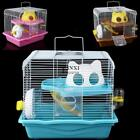 Hot High Quality Pet Products Small Double Layers Hamster Cage Haven New TXSU