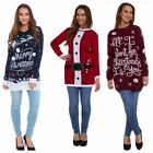 WOMENS 2017 NEW CHRISTMAS TUNIC NOVELTY XMAS JUMPER DRESS KNITTED RETRO SWEATER