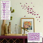 Butterfly Wall Stickers Home Decor Childrens Room Art Girls Bedroom Vinyl Decals