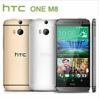 """HTC One M8 5.0"""" 32GB+2GB 4G LTE GSM Unlocked Android Cell Phone Smartphone WIFI"""