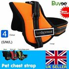 Adjustable Soft Nylon Padded Non Pull control Dog Harness Vest Training Outdoor
