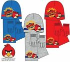 New boys licensed Angry Birds winter hat with gloves and scarf one size 4-8 year
