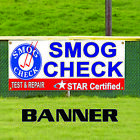 Smog Check Test & Repair Star Certified Banner Sign