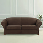 Sure Fit Ultimate Heavyweight Stretch Faux Suede 2 Separate Box Cushioned Sofa