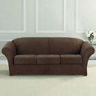Sure Fit Ultimate Heavyweight Stretch Faux Suede 3 Box Cushioned Sofa Slipcover
