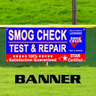 Smog Check Test & Repair Star Certified State of California Licensed Banner Sign