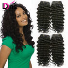 Deep Wave Curly Malaysian Virgin Hair 4 Bundles 400g Human Hair Extensions Weave