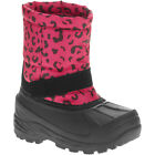 Toddler Girl's Classic Hot Pink/Black Animal Print Winter Boots Size 5, 7, 9