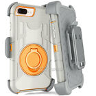 iPhone XS Max X 8 7 6S Plus Shockproof Protect Case Heavy Duty Belt Clip Holster