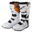 ADULT MX MOTORBIKE ONEAL RIDER MOTOCROSS RACING OFF ROAD ENDURO BOOTS WHITE