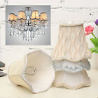 Внешний вид - Vintage Small Lace Lamp Shades Textured Fabric Ceiling Chandelier Light Cover