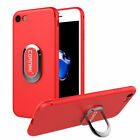 360 Degrees Rotation Stand Ring Grip Holder Soft TPU Case For iPhone 6 7 Plus