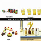 Mini Fruit Canned cake Spice bottles Dollhouse Miniature Food Doll Accessories $0.77 USD on eBay
