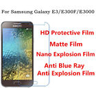 3pcs For Samsung Galaxy E3 High Clear/Matte/Nano Explosion/Anti Blue Ray Film