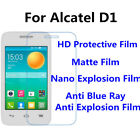 3pcs For Alcatel OneTouch Pop D1 High Clear/Anti Blue Ray Screen Protector