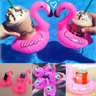 1/2/5/10x Inflatable Flamingo Drink Holder Floating Cup Holder Pool Bath Favour