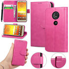 For Motorola Moto C /C Plus New Genuine Stylish Luxury Leather Wallet Phone Case