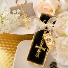 Dramatic Gold metal Cross with intricate intertwined design - FC-6153