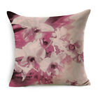 Floral Flower Pillow Case Sofa Couch Cushion Cover Home Decor #Polyester Fibre