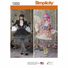 Simplicity Pattern #1300 Lolita Goth Steampunk Victorian Misses Costume Dresses