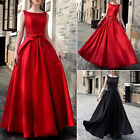 Wedding Women Bridesmaid Long Evening Party Ball Prom Gown Cocktail Formal Dress