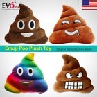 New Rainbow Emoji Poo Plush Soft Toys For Kids Fun Multi Colour Pillow Cushion A