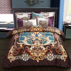 Bedding set 4pcs Upscale faultless cotton duvet cover pillowcases bed sheet Provence