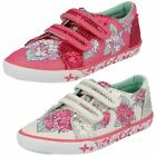 Girls Startrite Washable Canvas Pumps - Endless Summer