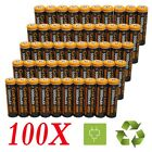 LOT 100x 18650 3.7V 5000mAh Li-ion Rechargeable Battery Cell For Flashlight USA