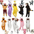 Unisex Adult Animal Onesie1 Onsies Anime Cosplay Pyjamas Kigurumi Fancy Dress UK