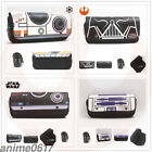 Star Wars  logo Print Pen Stationery Bag Button Pencil Case Cosmetic Make Up Bag