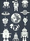 LOTS 6 - 24 PCS. SUB-SETS SPACE AND ALIENS DIE CUTS* ASTRONAUT PLANET EARTH READ