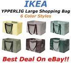 Внешний вид - **SALE** IKEA YPPERLIG Large Reusable Eco Shopping Laundry Tote Travel Bags