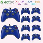 LOT Blue USB Wired Game Remote Controller for Microsoft Xbox 360 PC Windows AS