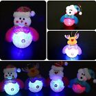 For Indoor Christmas Santa Doll Festival Party Xmas Tree Decoration Light Ball