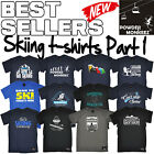 Men's Skiing T Shirts The perfect funny novelty Gift Ski Birthday T-Shirt Pt 1