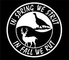 Hunting Deer Turkey Pheasant Bird Hunter Car Truck Window Vinyl Decal Sticker
