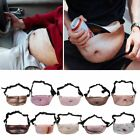 Fanny Fun Dad Bod Waist Bags Flesh Colored Beer Fat Hairy Belly Belt Xmas Gifts