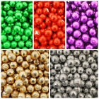 MILK CHOCOLATE FOIL BALLS FOR PARTY FAVOURS -  ALL COLOURS AVAILABLE x