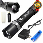 Tactical Police SWAT Heavy Duty 3W LED Rechargeable Flashlight Military Torch