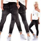 Stylische Baggy-Hose im Used-Jeans-Look
