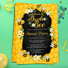 Bee Bridal Shower Invitation - Bride to Bee Themed Shower Invites - Personalized