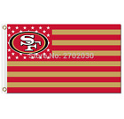 NEW! San Francisco 49ers Flag 3ft x 5ft Polyester Retro 40 Styles Outdoor Indoor
