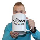 Funny Mugs I Am Gaming I Cant Adult Right Now Geek Nerd Gamer Giant NOVELTY Mug